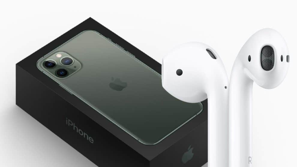 iPhone 12 Box Headphones