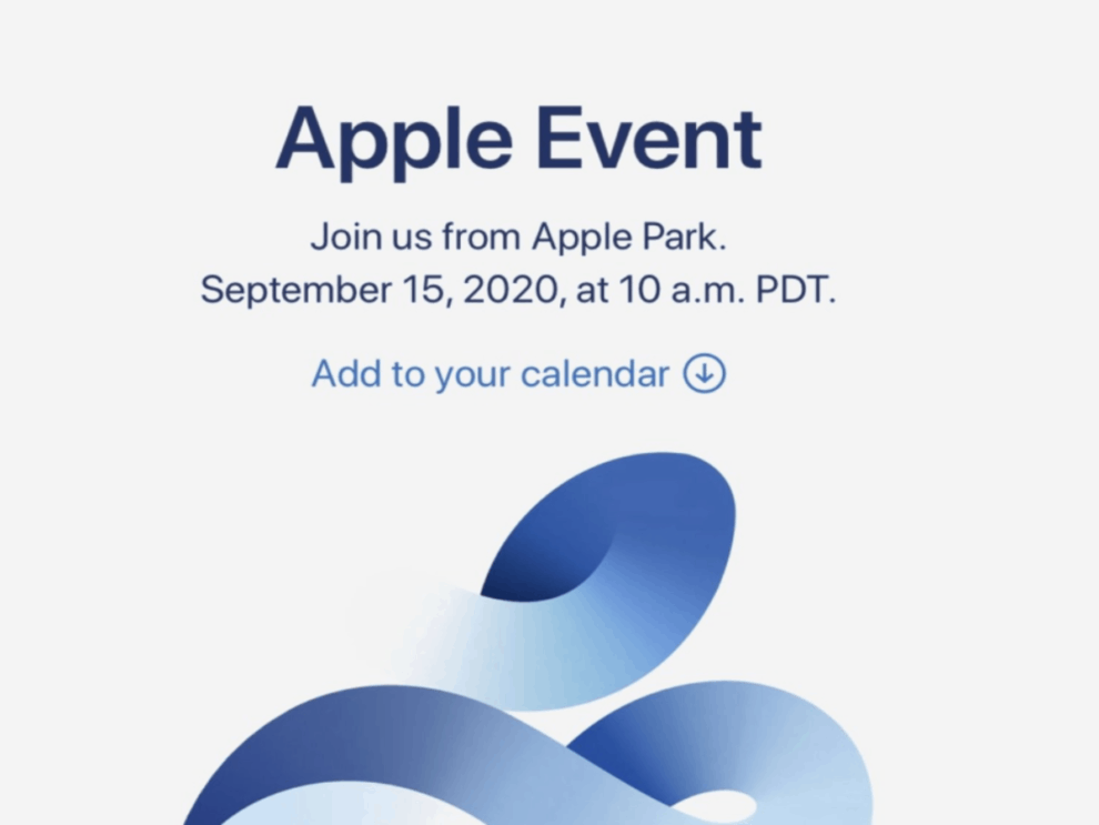 iPhone 12 launching Apple event September 15