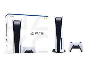 PS5 retail box