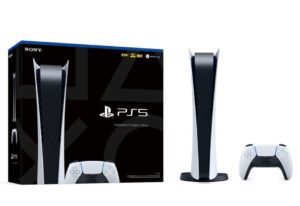 PS5 console boxes