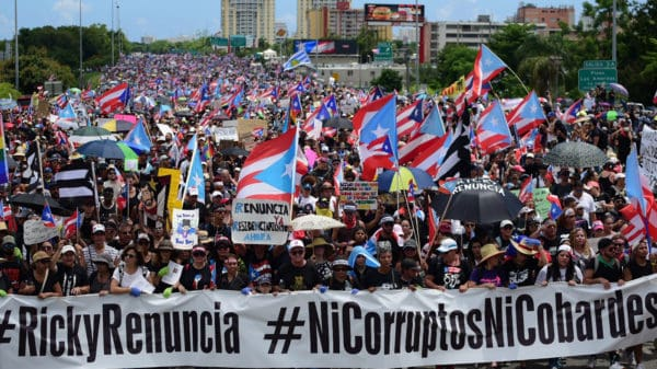 Top 10 Largest Protests In The US: #RickyRenuncia