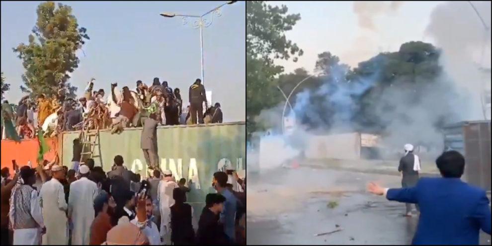 Protests French Embassy Islamabad Pakistan Bangladesh India protests
