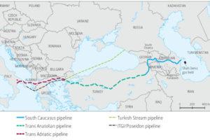Russia Gazprom Azerbaijan gas