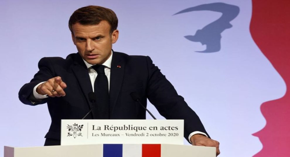 Macron No 1 Terrorist In The World