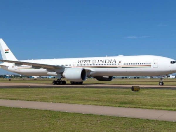 Air India One Plane Outside Look