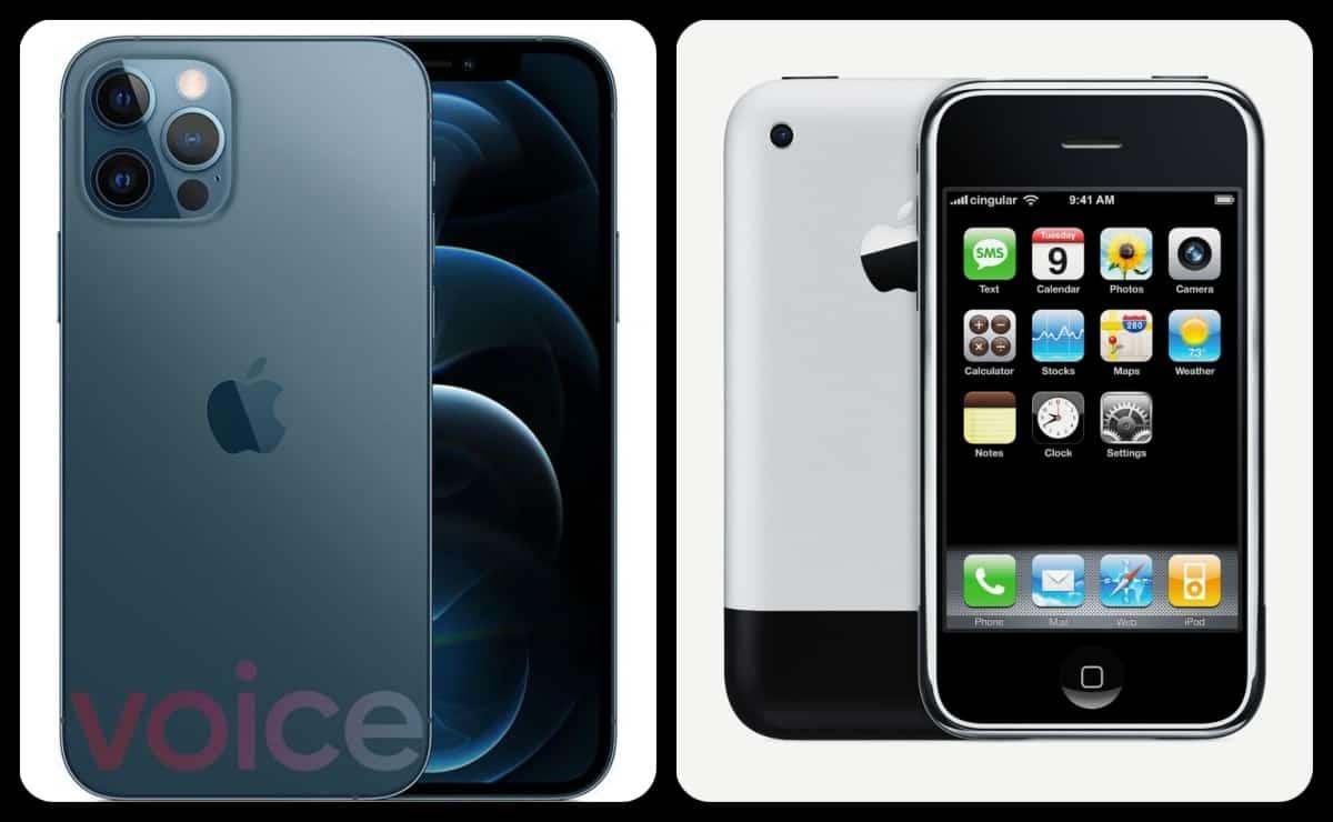 iPhone 12 design looks original iPhone 1 look