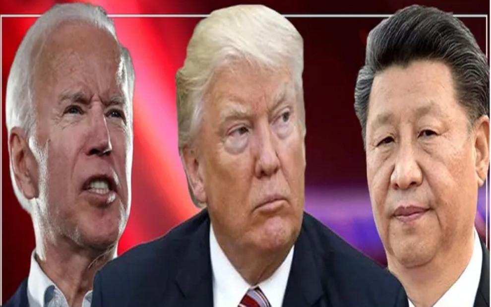 Presidential Debate Trump and Biden China scapegoat