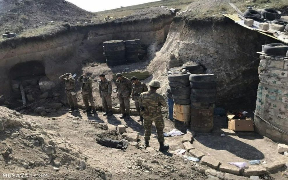 armenian soldiers captured azerbaijan