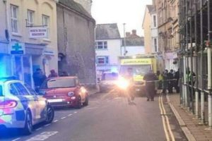 stabbing Barnstaple Devon