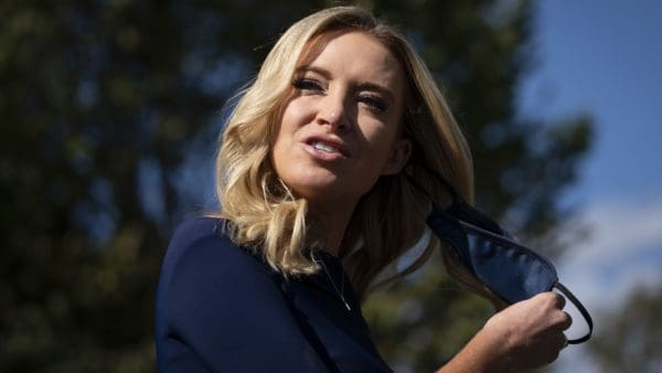 list of White House staff that have tested positive for coronavirus: Kayleigh McEnany