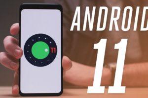 Navigation & status bar fullscreen apps Android 11 update