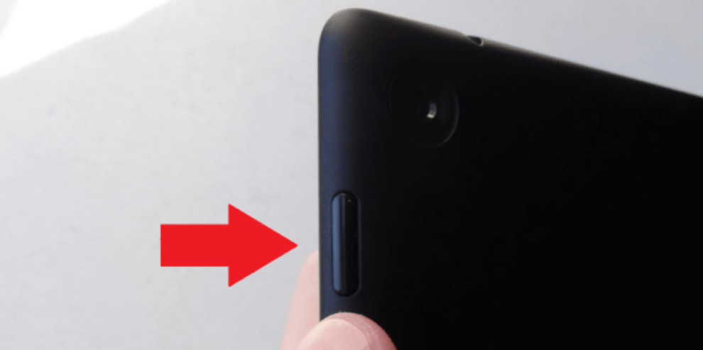 OnePlus Volume Up And Power Button