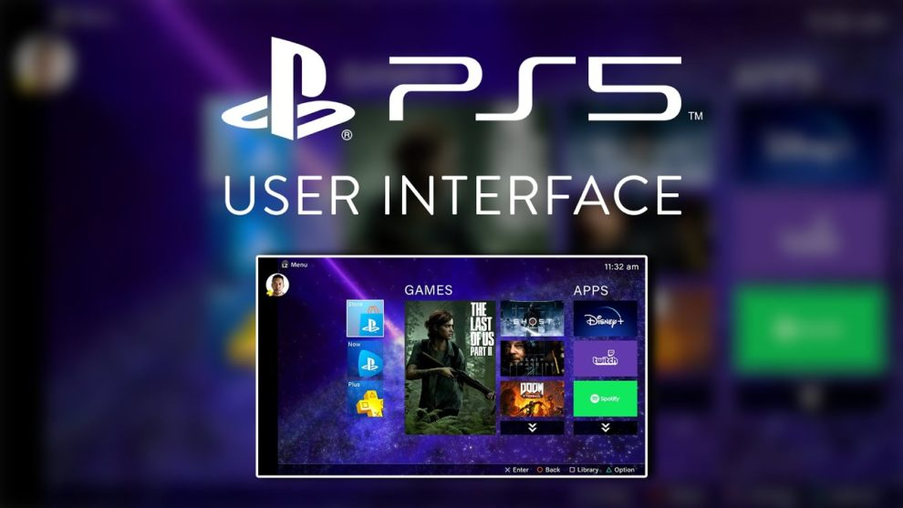 PS5 User Interface (UI) And Controller Create Button