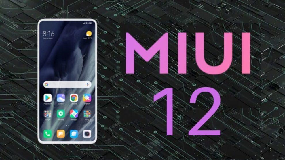 Redmi Note 8 MIUI 12 Update