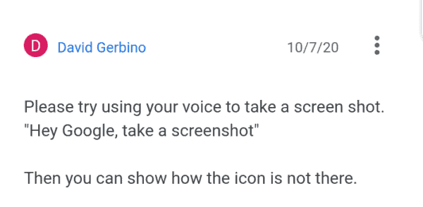 Pixel Users Want The Screenshot Button Back On The Android 11 Power Menu