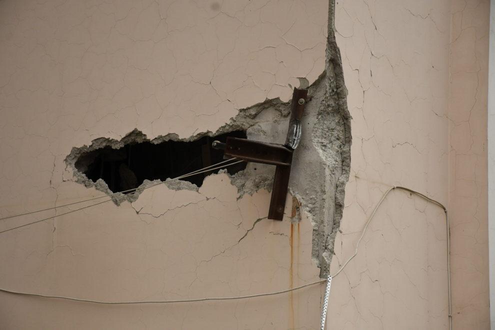 Stepanakert attack drones explosions sirens air raids