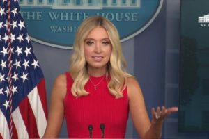 Kayleigh McEnany tested positive for COVID-19