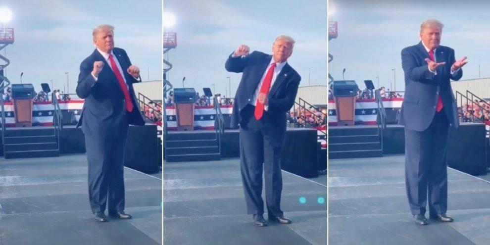 Top 10 Trump Dance Videos