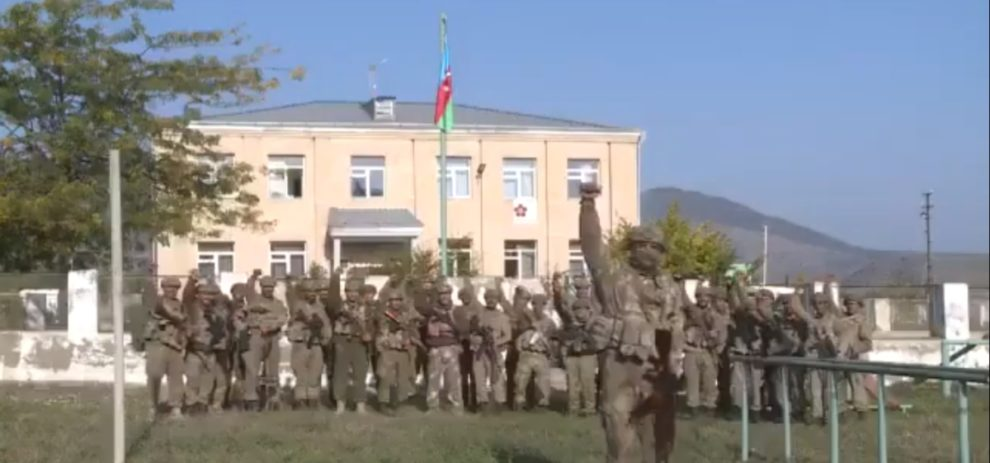 control Akcakendi and Zengilen Azerbaijan army