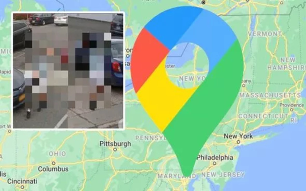 Google Maps Street View Man spotted twice