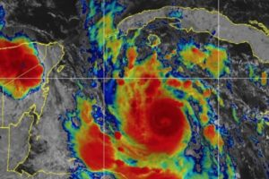 Hurricane Delta Category 5 Cancun Mexico