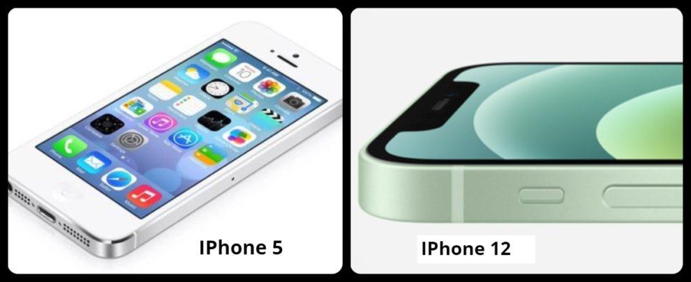 iPhone 12 design looks iPhone 5