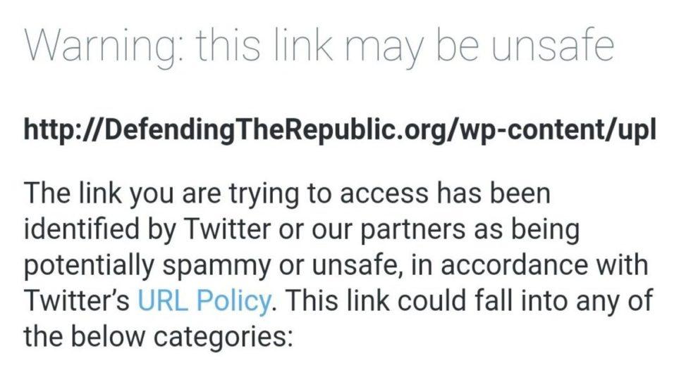 Twitter blocks Sidney Powell website defendingtherepublic.org