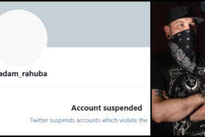 Twitter suspends Antifa Leader account Adam Rahuba