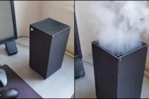 xbox series x smoke videos fake xbox series x disc sound issue