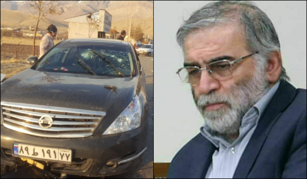 Who assassinated Iran Nuclear Scientist