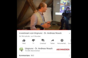 german doctor police raid Dr. Andreas Noack live video