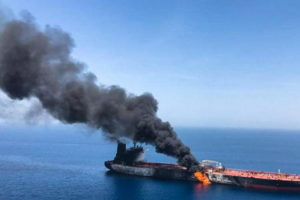 oil tanker saudi arabia red sea attacked
