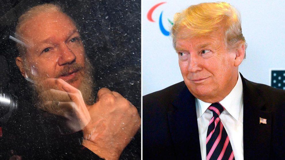 Trump pardon Julian Assange