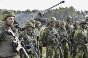 Swedish defense budget
