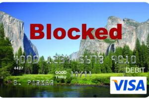 EDD Card Bank of America Blocked