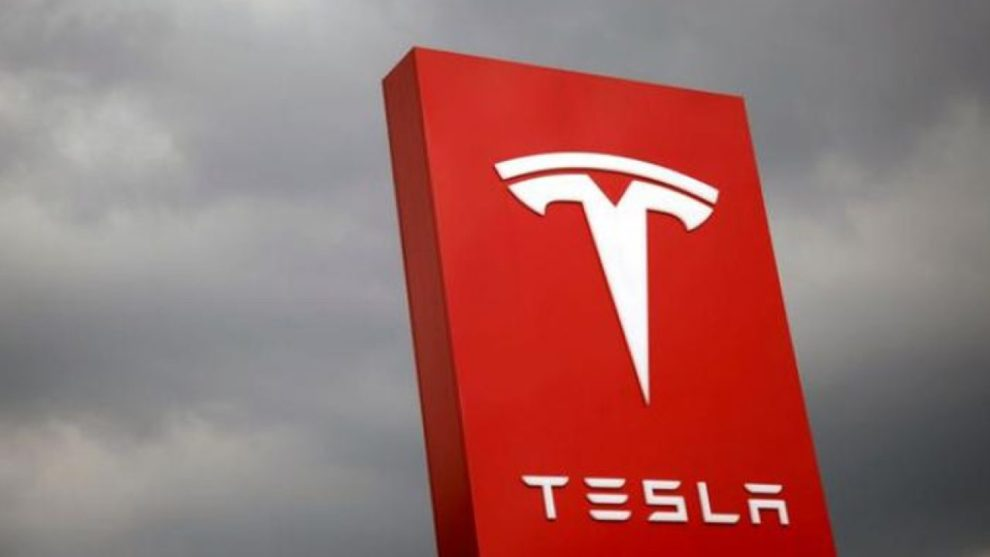 Tesla Shares Record High