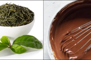 Green Tea Chocolate Coronavirus