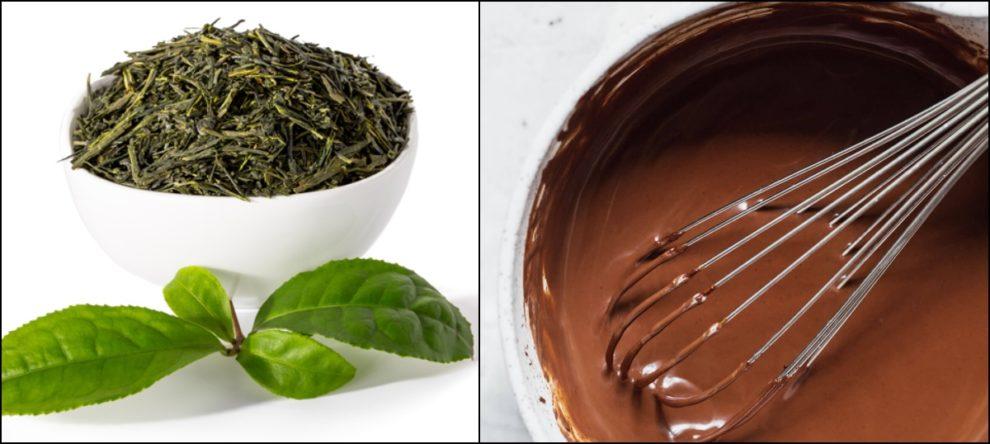 Green Tea Chocolate Coronavirus