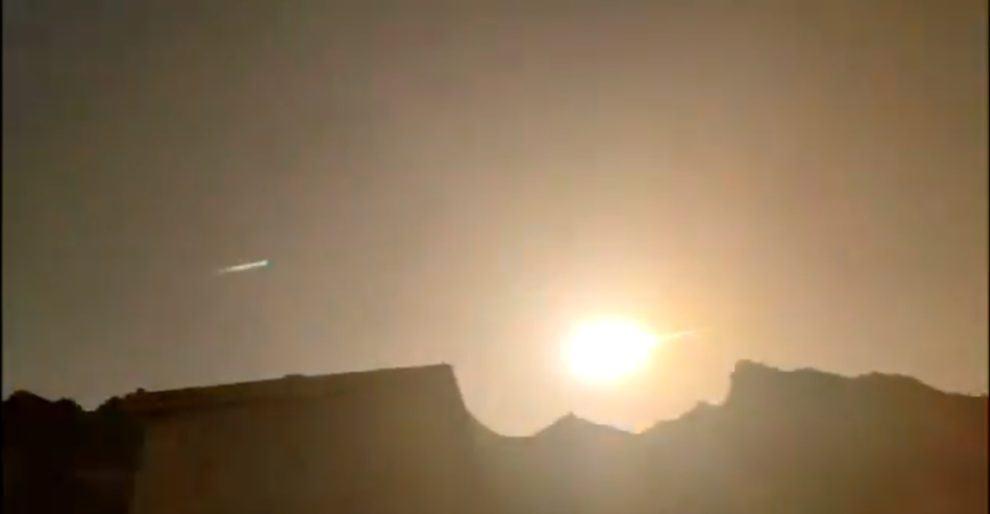 meteor yushu china fireball