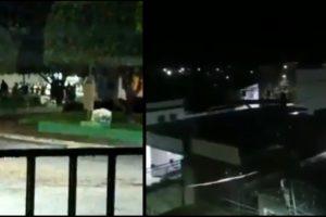 Brazil bank robbery cameta video