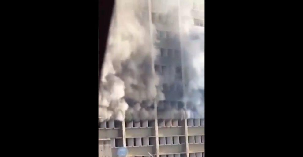 fire venezuela caracas