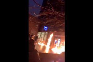 brussels police station fire ibrahima death