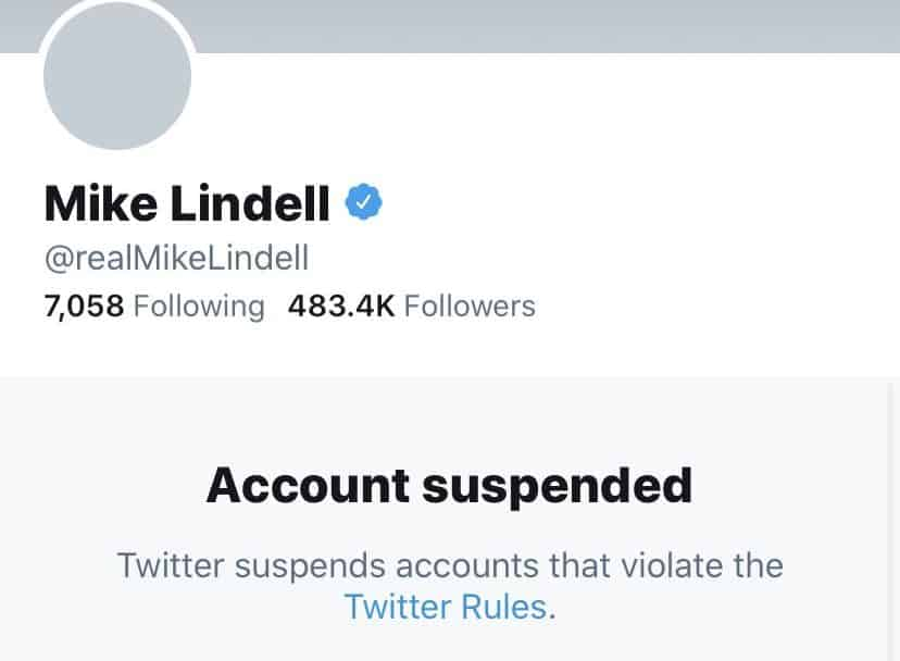 Twitter banned Mypillow CEO
