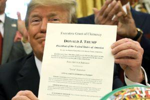 Trump padon list