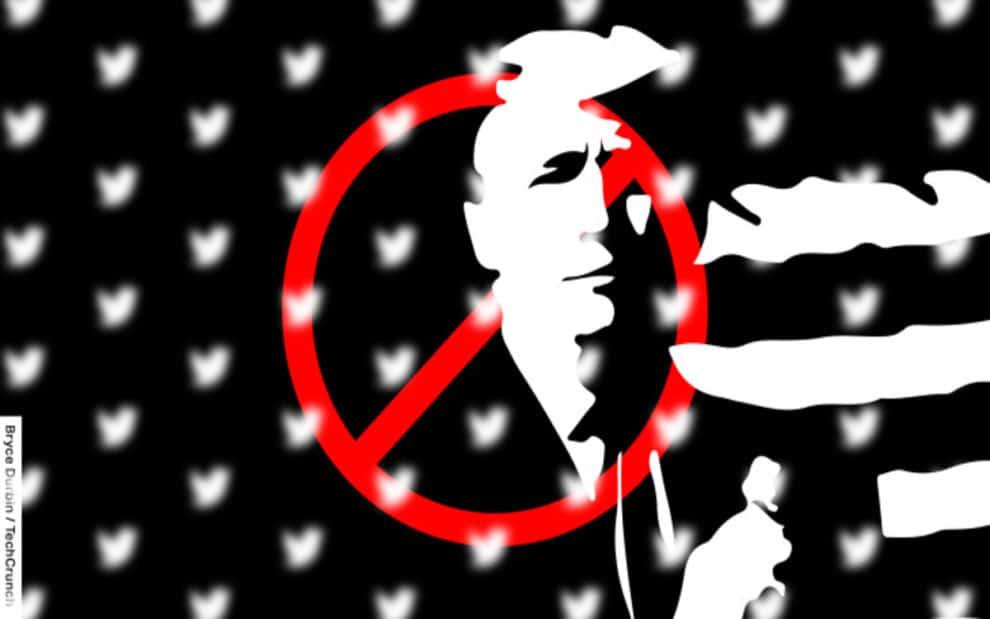 Trump twitter ban social media
