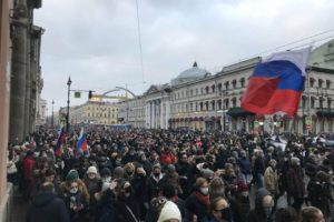 video navalny protests russia