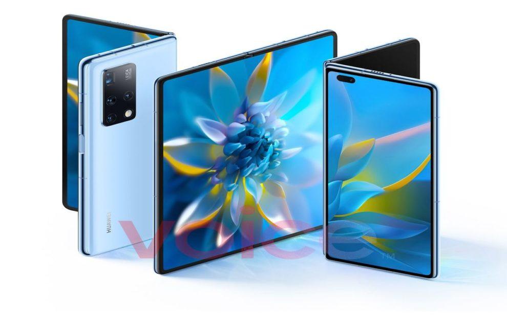 Huawei Mate X2 images leak