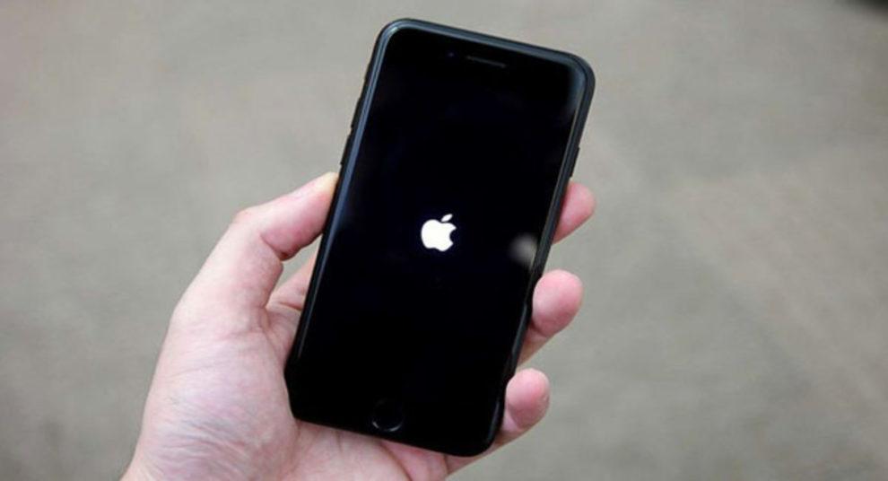 iPhone 12 Apple logo flashes