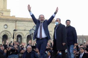 Armenian Pashinyan resign
