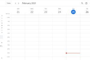 Google Calendar sync error